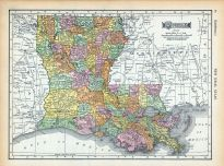 Page 088 - Louisiana, World Atlas 1911c from Minnesota State and County Survey Atlas